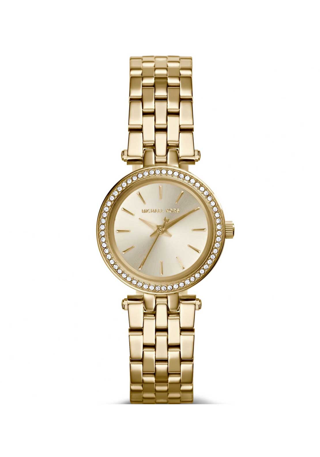 Michael Kors Ladies Mini Darci Watch, Gold