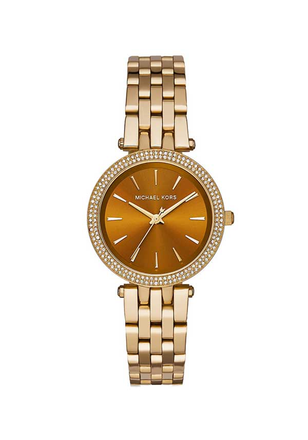 Michael Kors Ladies Darci Watch, Gold