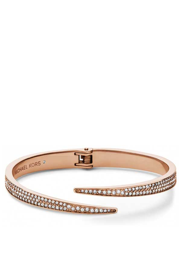 Michael Kors Womens Park Avenue Bangle, Rose Gold