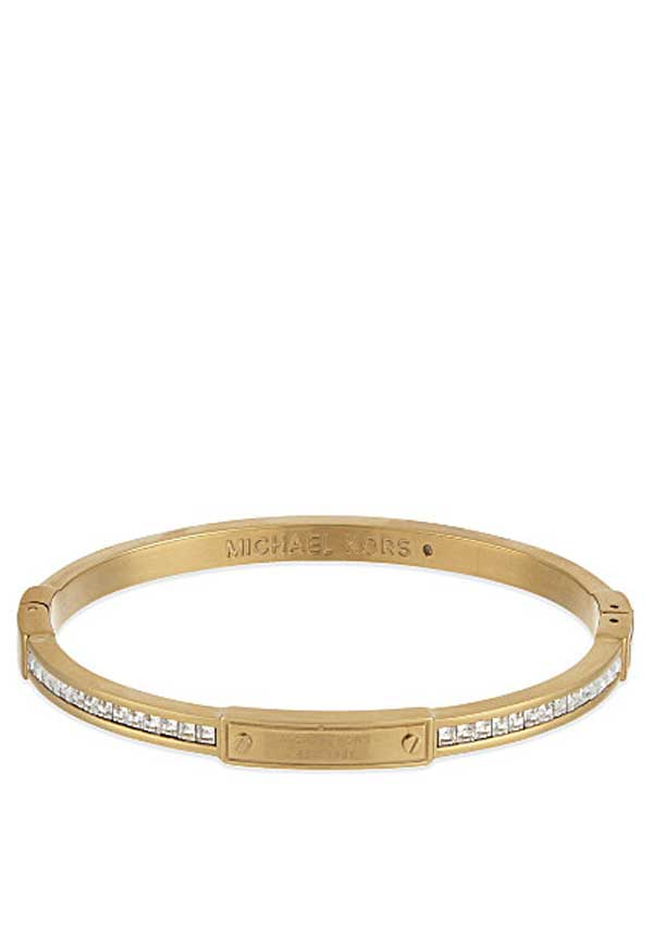 Michael Kors Womens Park Avenue Bangle, Gold