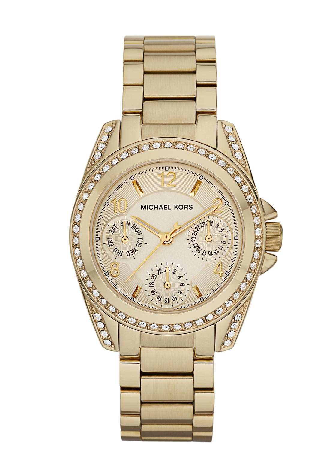 Michael Kors Womens Mini Blair Watch, Gold