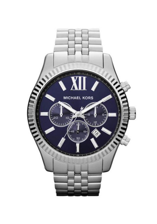 Michael Kors Men's Chronograph Lexington Stainless Steel Watch