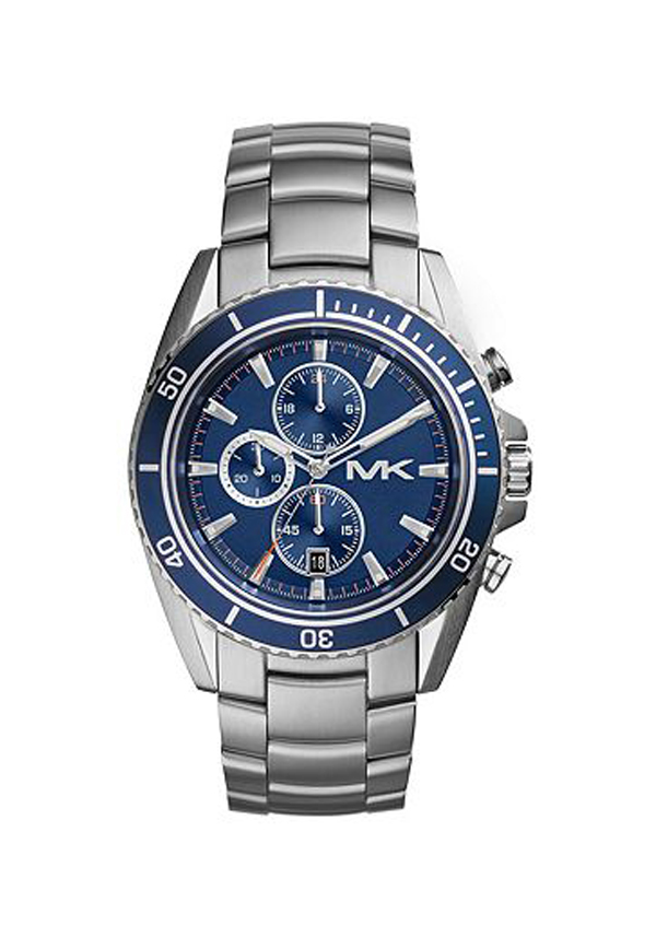 Michael Kors Men's Chronograph Lansing Stainless Steel Watch