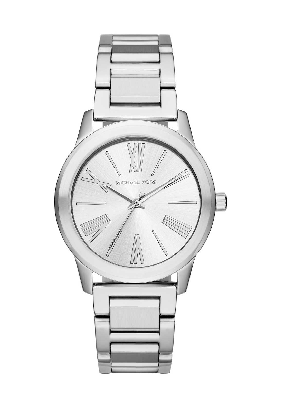 Michael Kors Womens Hartman Watch, Silver