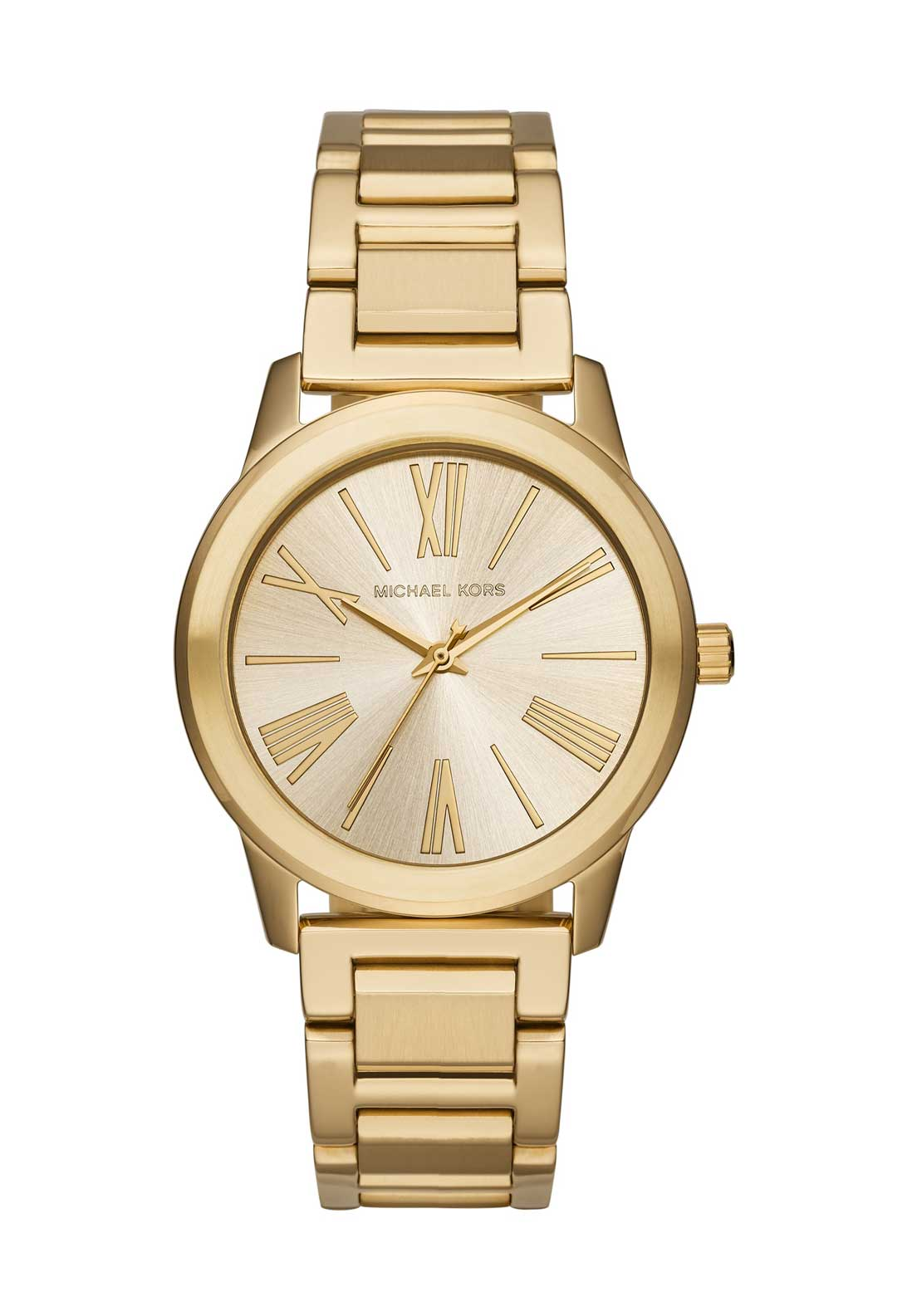 Michael Kors Womens Hartman Watch, Gold