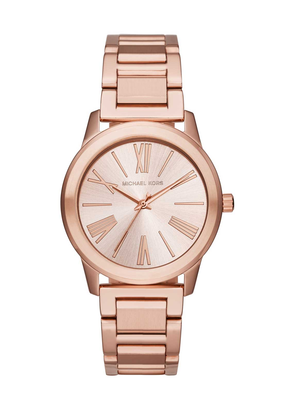 Michael Kors Womens Hartman Watch, Rose Gold