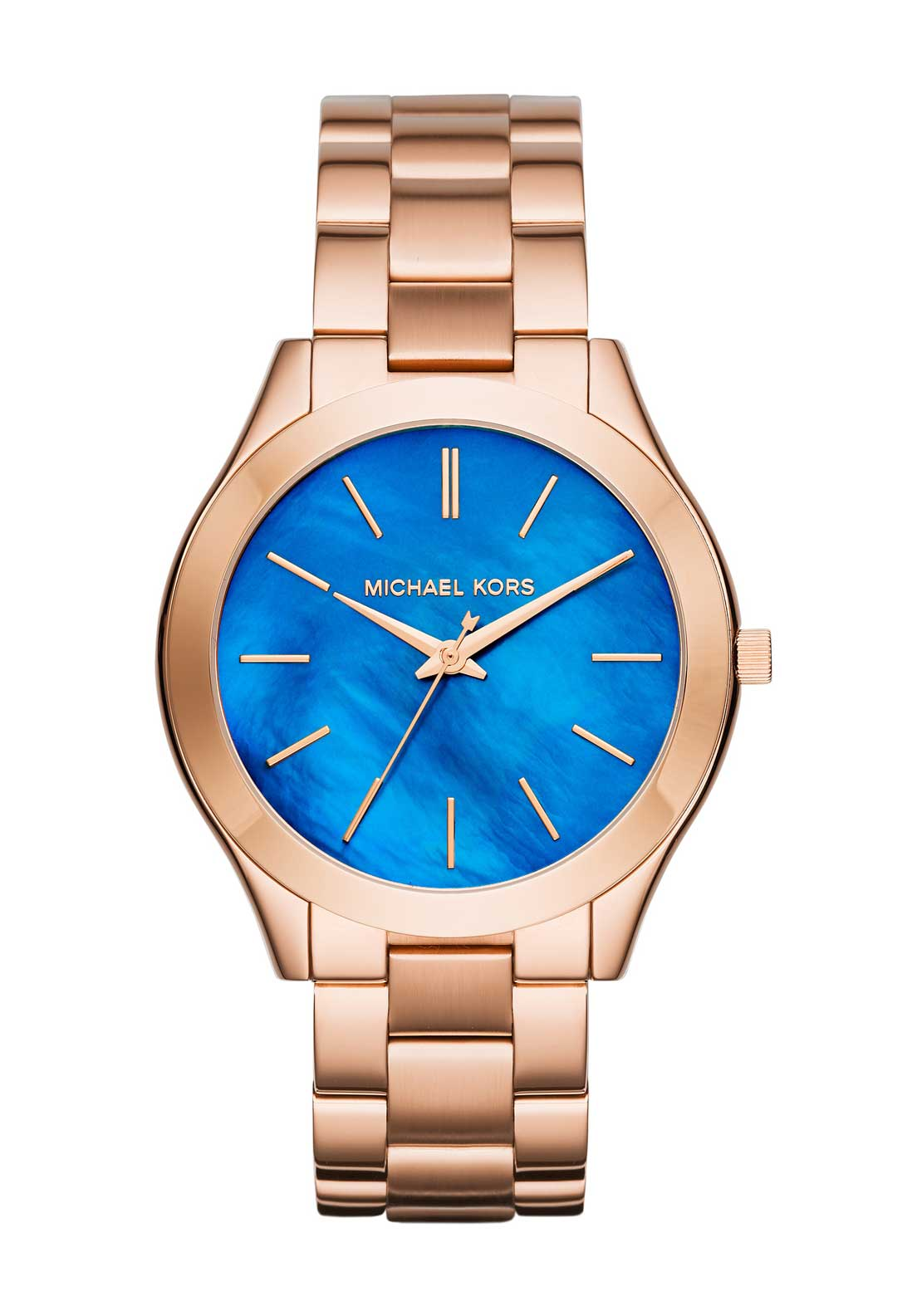 Michael Kors Womens Runway Watch, Rose Gold
