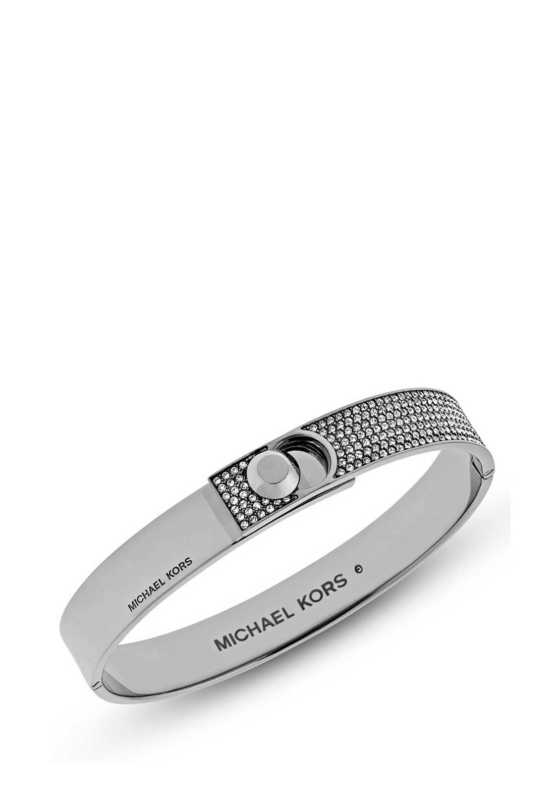 Michael Kors Ladies Chunky Heritage Bangle, Silver