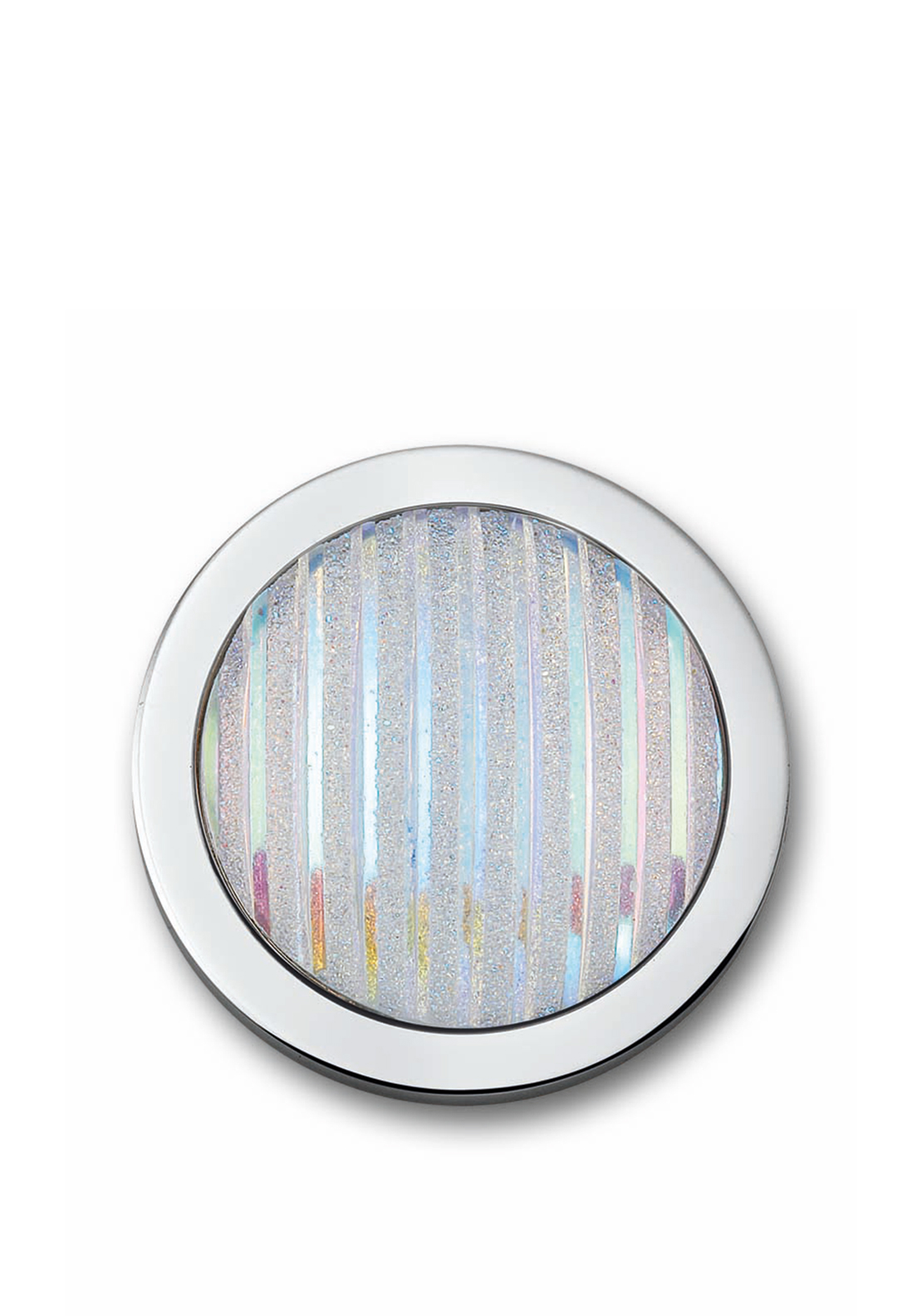 Mi Moneda Fiesta White Steel Coin Small