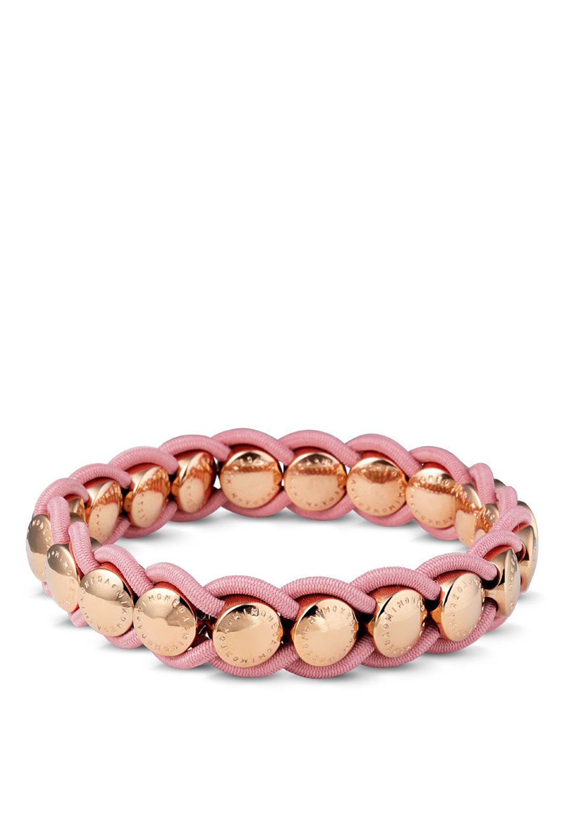Mi Moneda Valencia Bracelet, Rose Gold and Pink