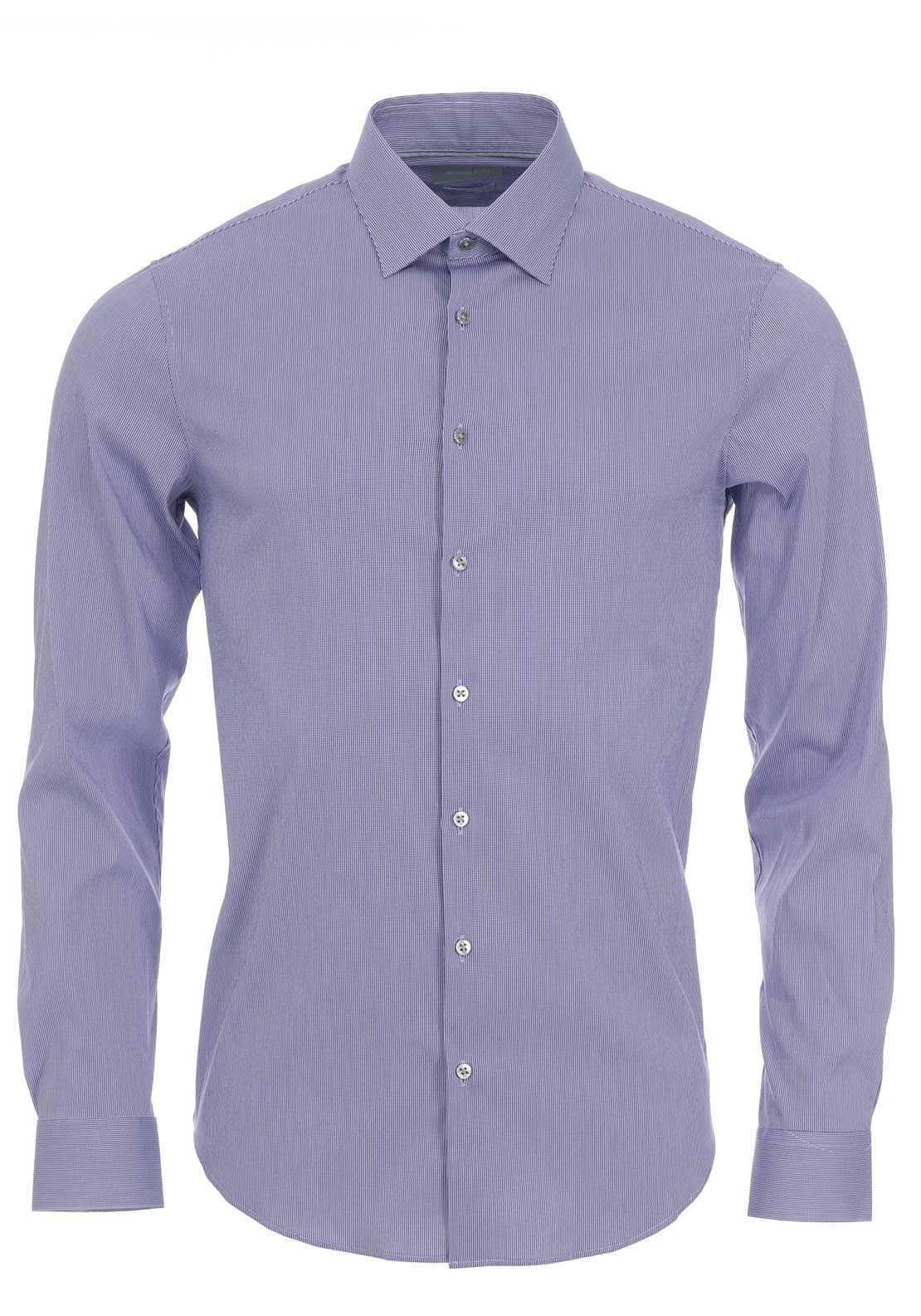 Michael Kors Raleigh Slim Fit Shirt, Purple