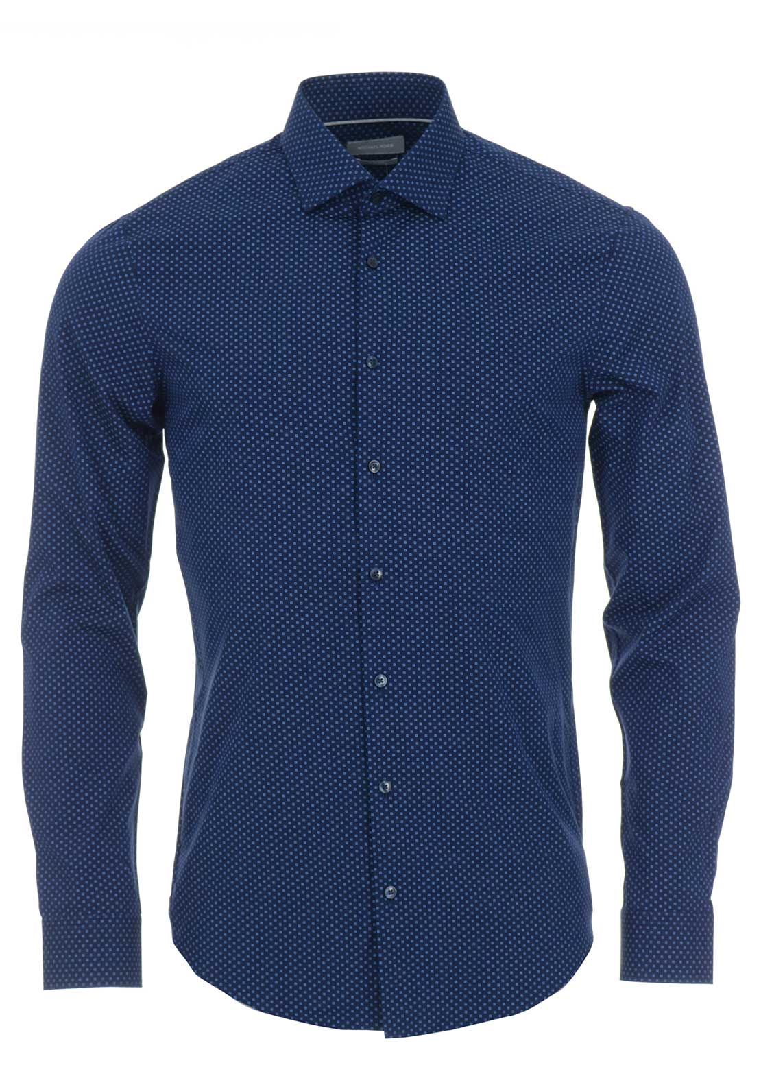 Michael Kors Slim Fit Shirt, Navy