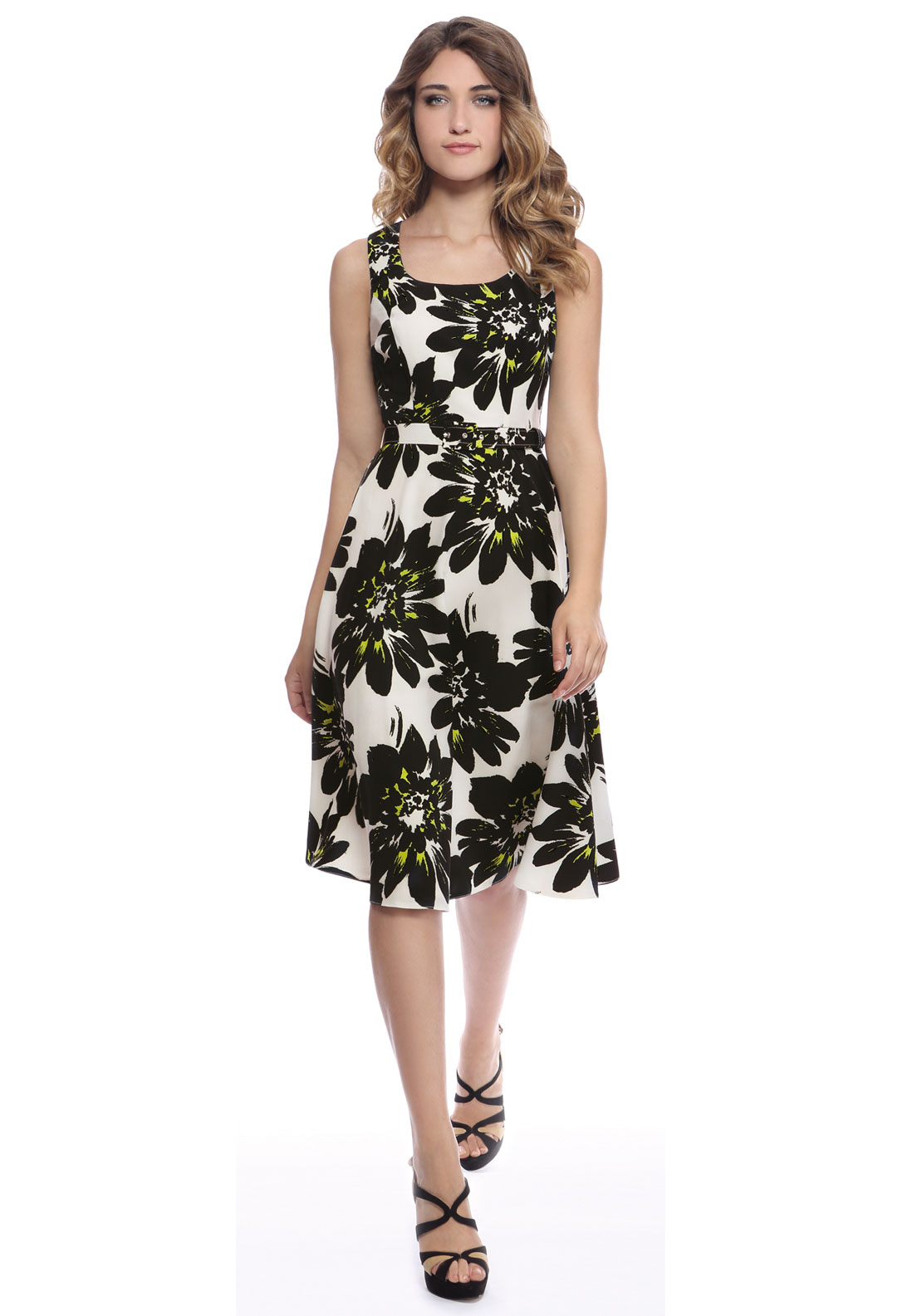 Michaela Louisa Floral Dress MHL8214