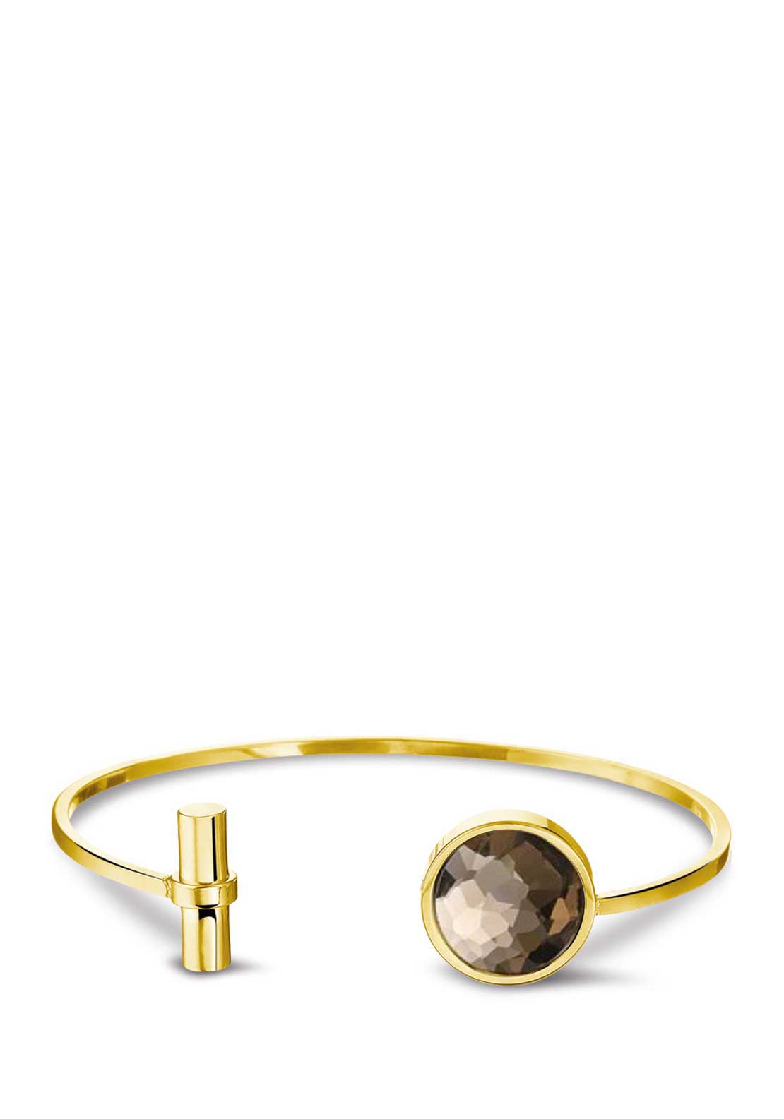Mi Moneda Dolce Champagne Coloured Bracelet, Gold