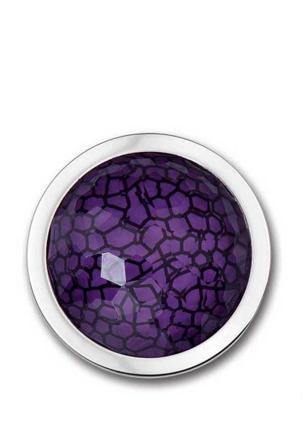 Mi Moneda Escala Purple Medium Disc, Silver