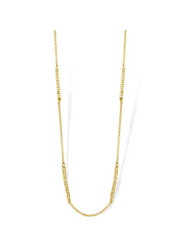 Mi Moneda Evita Chain, Gold Plated