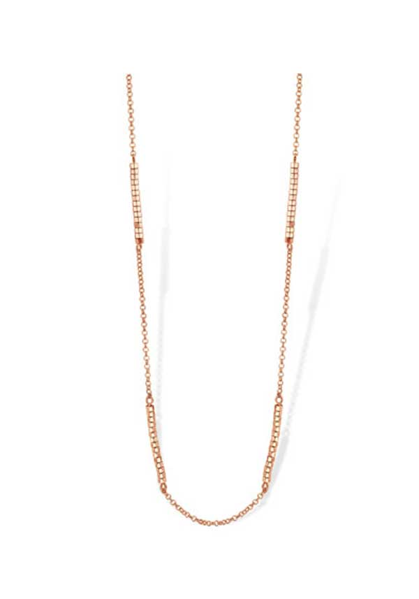 Mi Moneda Evita Chain, Rose Gold Plated