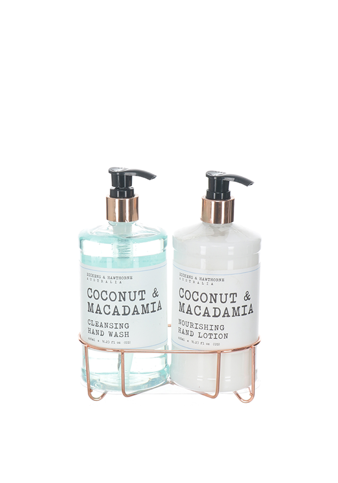 Dickens & Hawthorne Coconut & Macadamia Cleansing Hand Wash and Lotion, 480ml
