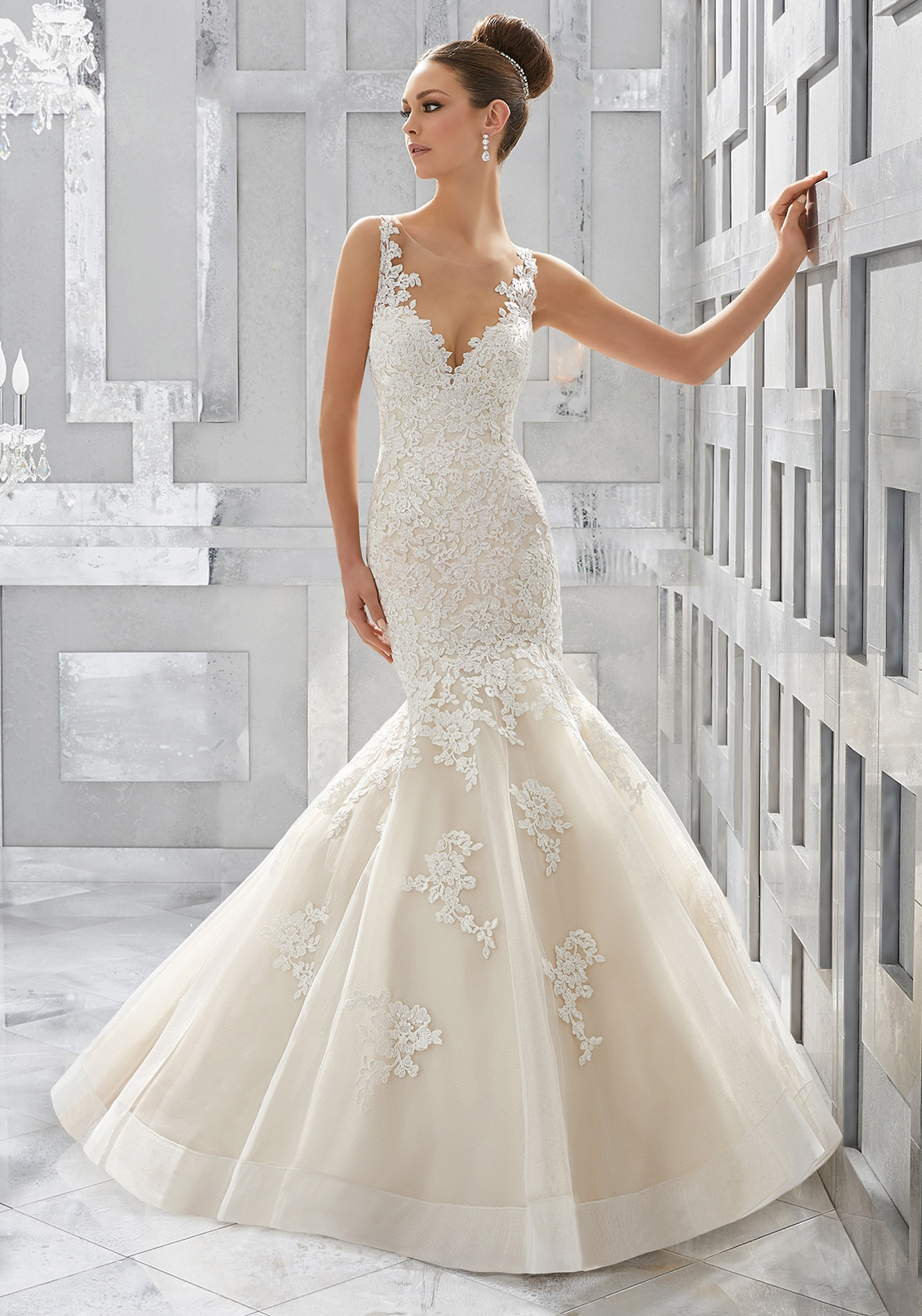 Mori Lee 5571 Wedding Dress