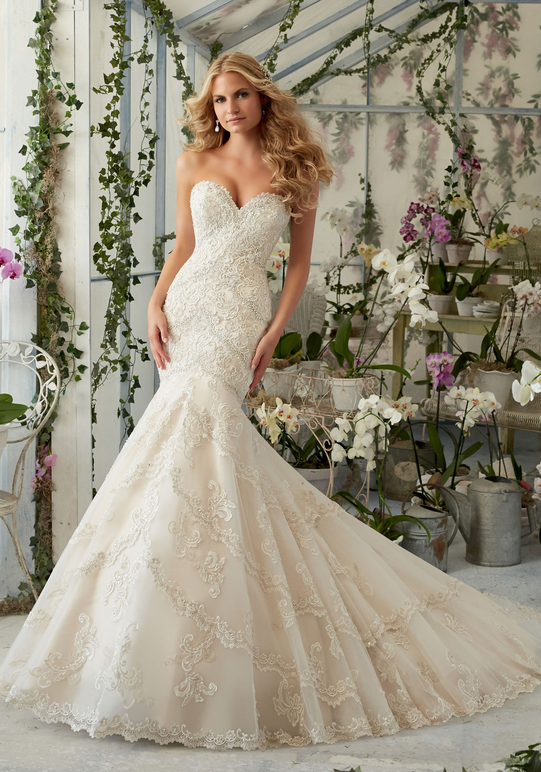 MORI LEE BRIDAL 10S LGD
