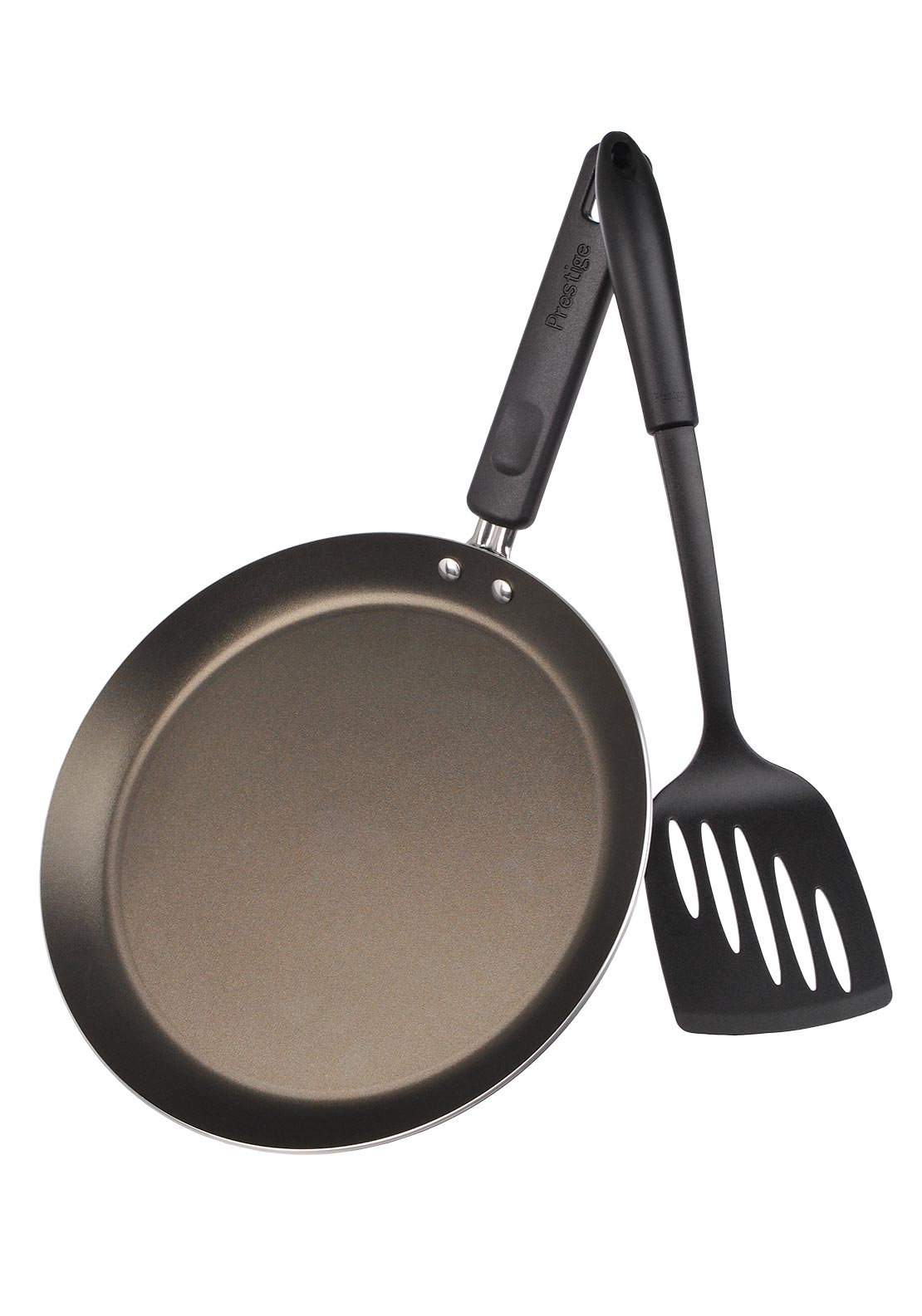 Prestige Crepe Pan with Nylon Turner, 24cm