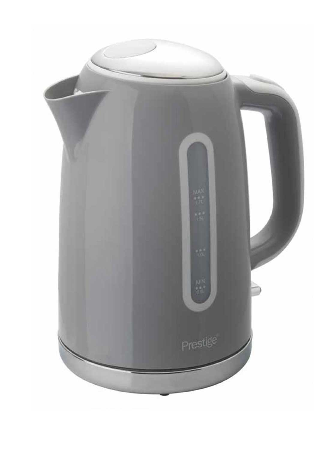 Prestige 1.7L Pebble Electric Jug Kettle, Grey