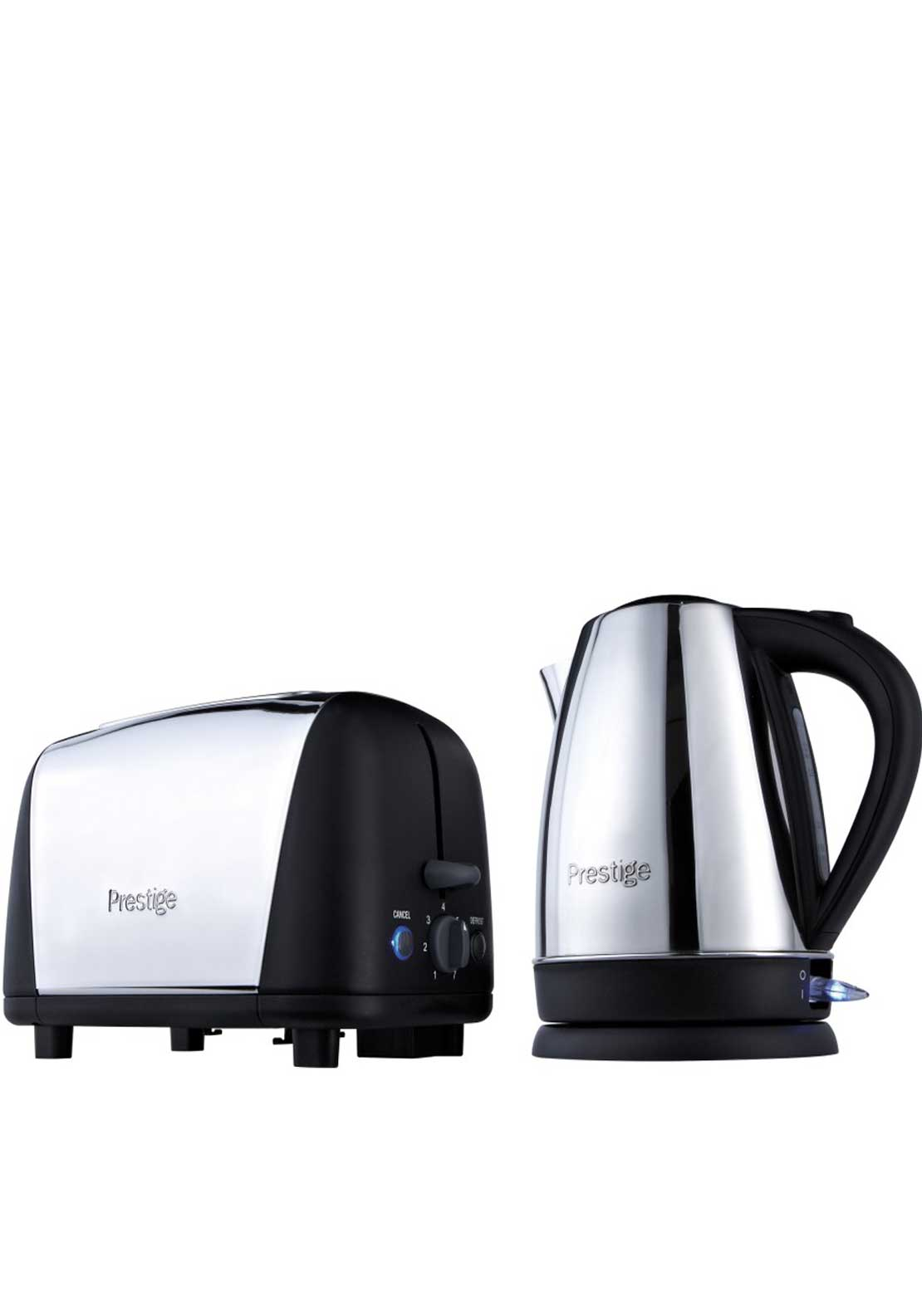 Prestige Breakfast Kettle & 2 Slice Toaster Set
