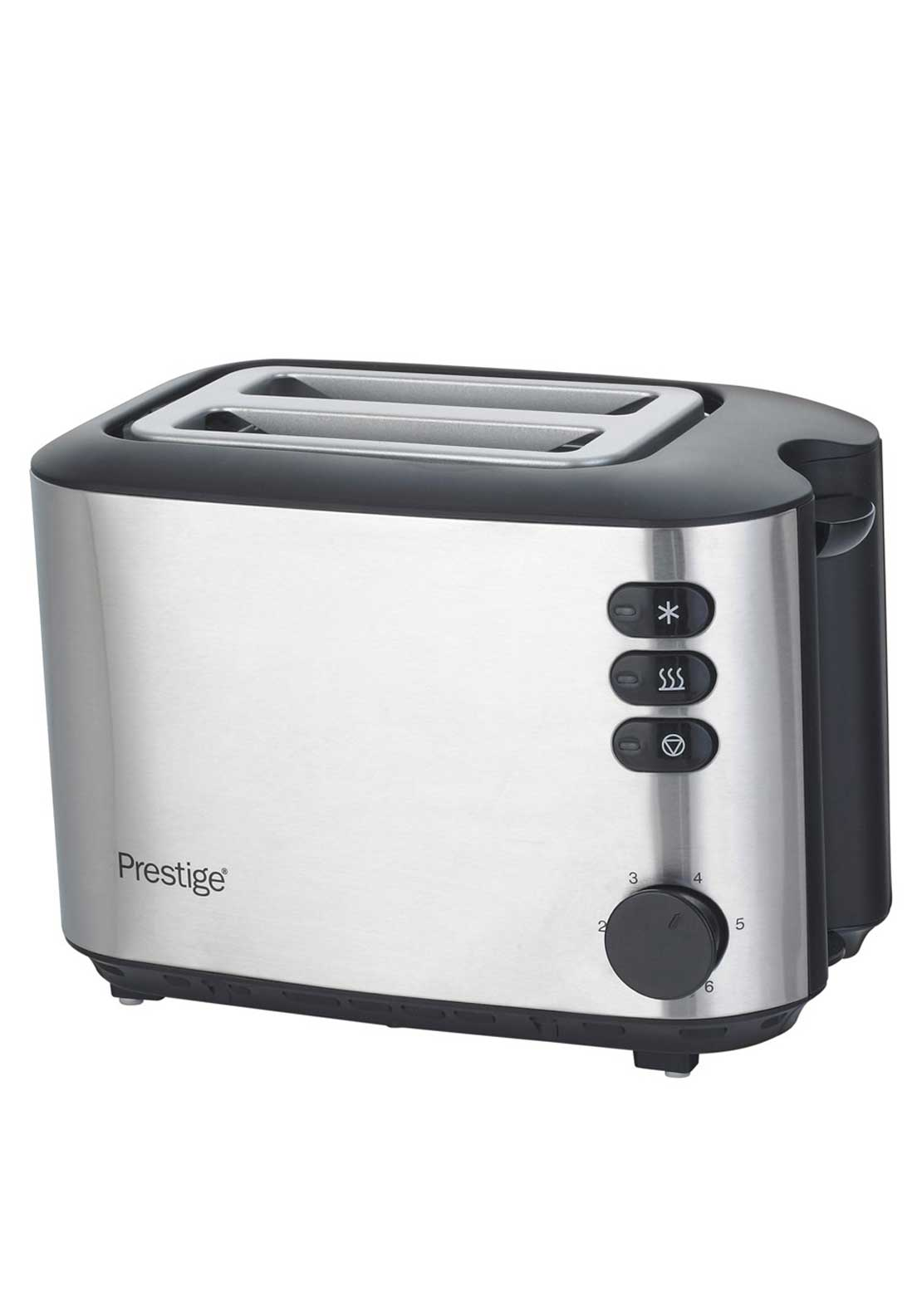 Prestige Brushed Stainless Steel 2 Slice Toaster