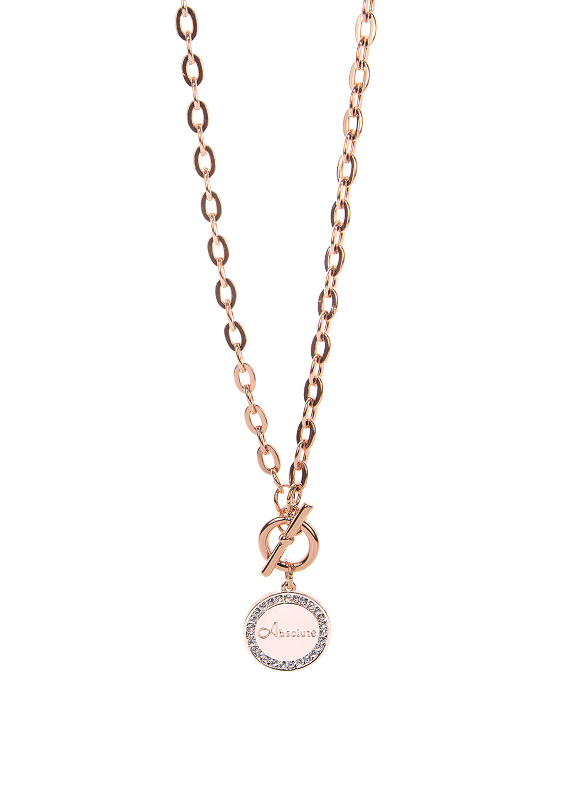 Absolute Jewellery Branded Pendant Necklace