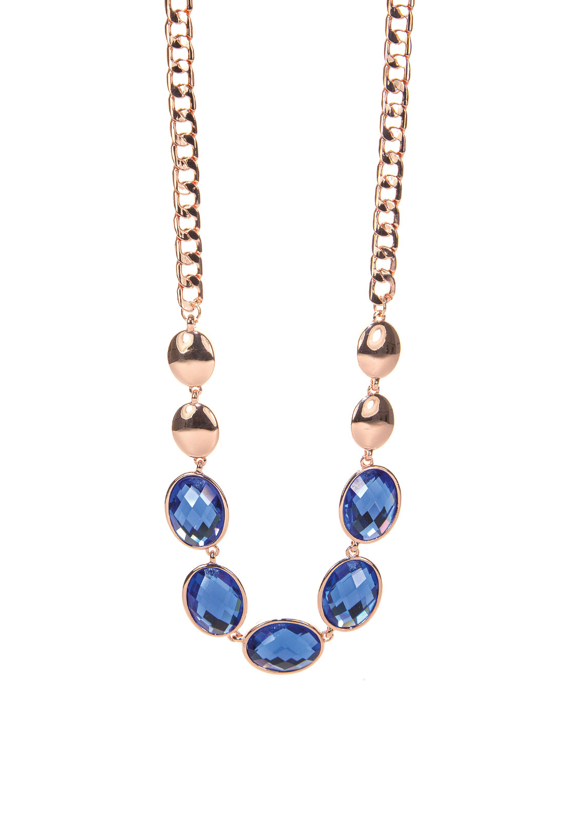 Absolute Jewellery Blue Stone Necklace