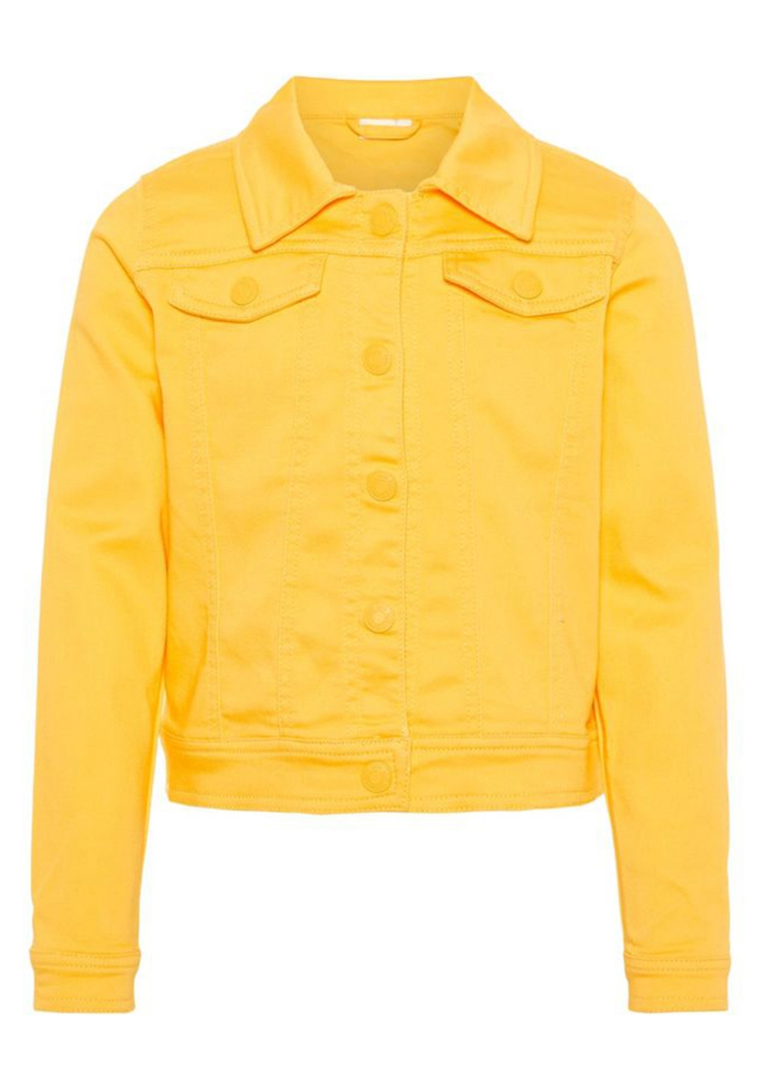Name It Girls Atinna Denim Jacket, Yellow