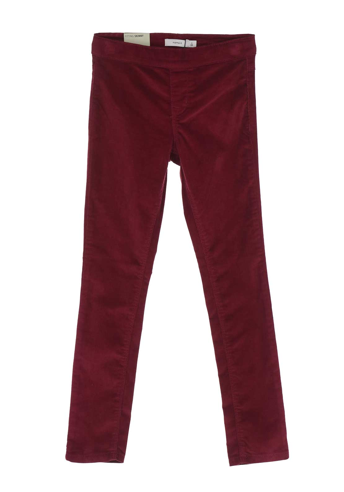 Name It Girls Lone Skinny Cord Leggings, Wine