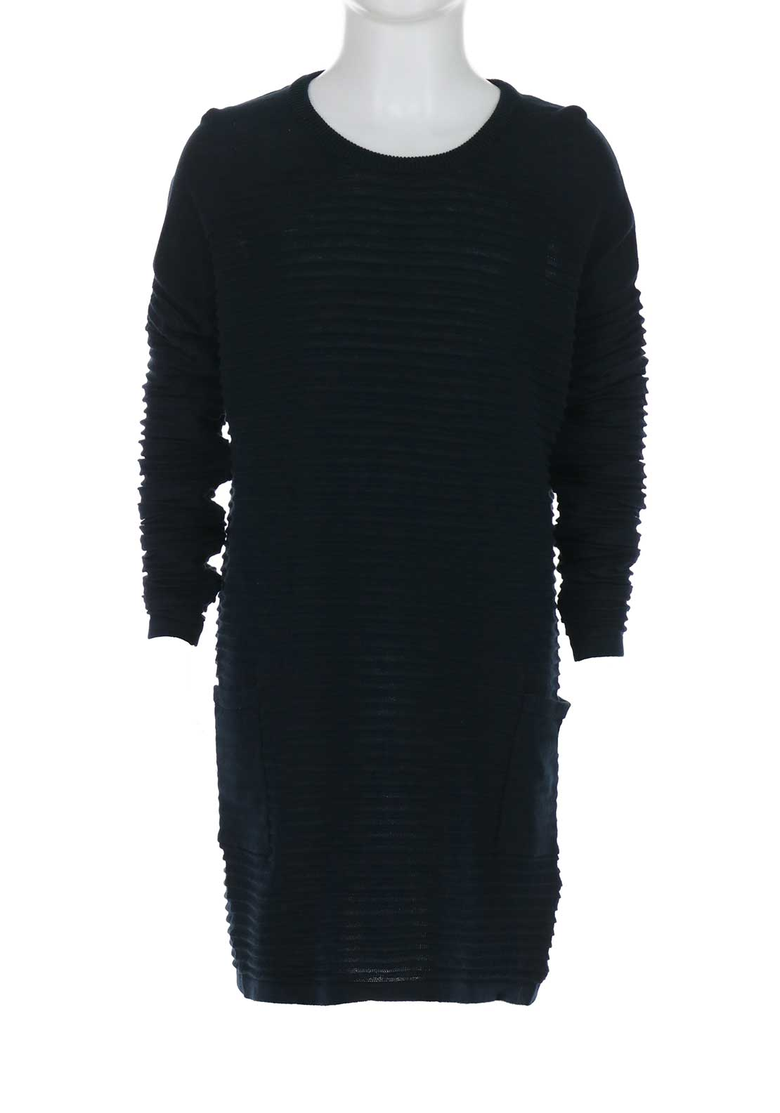 Name It Girls Wilda Knit Dress, Navy