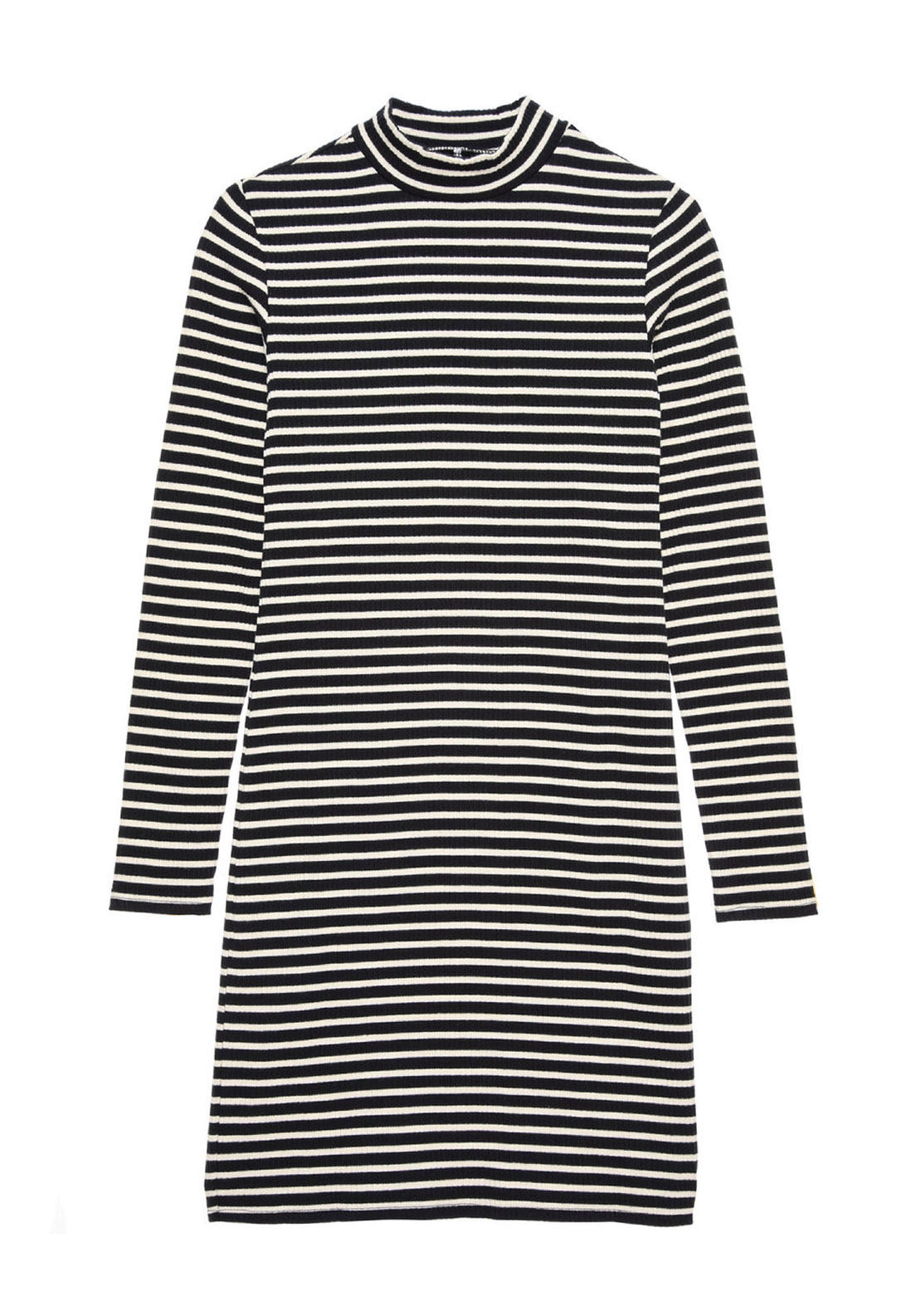 Name It Millie Striped Dress, Black and White