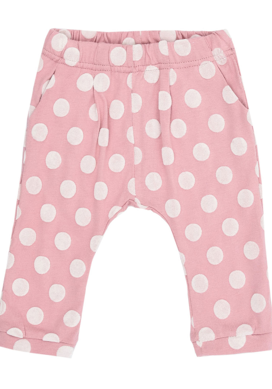 Name It Baby Girls Prik Polka Dot Bottoms, Pink