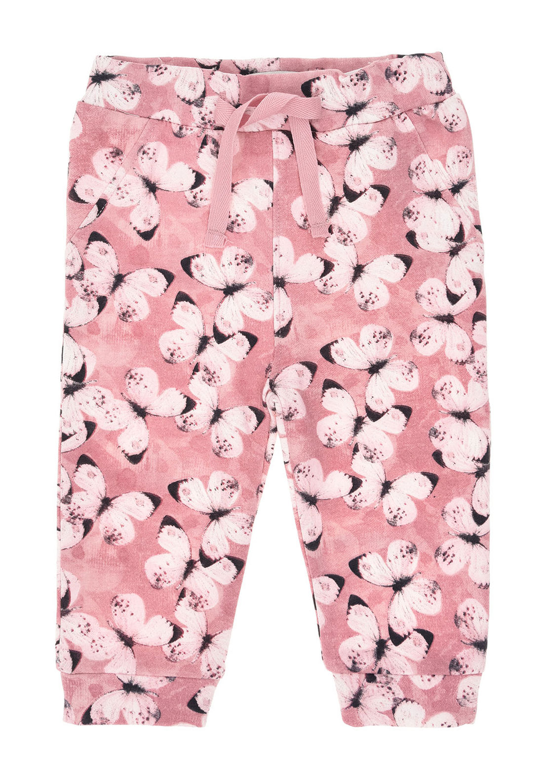Name It Baby Girls Gamilla Butterfly Trousers, Pink