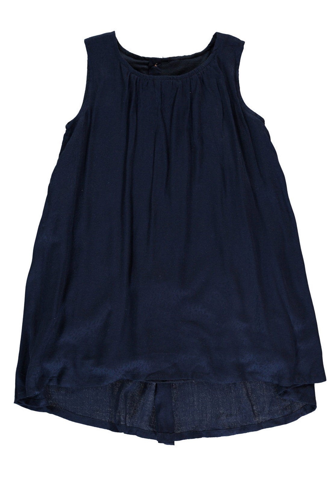 Name It Girls Jonna Dip Hem Dress, Navy
