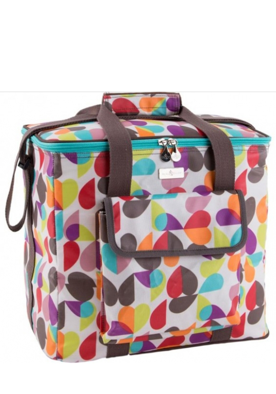 Beau & Elliot Broken Hearted Family Cool Bag, Multi-Coloured