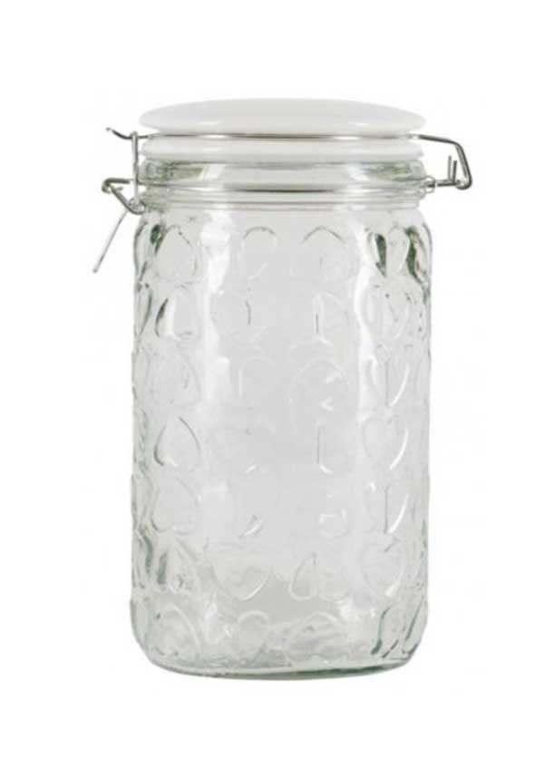 Beau & Elliot Large Confetti Embossed Storage Jar