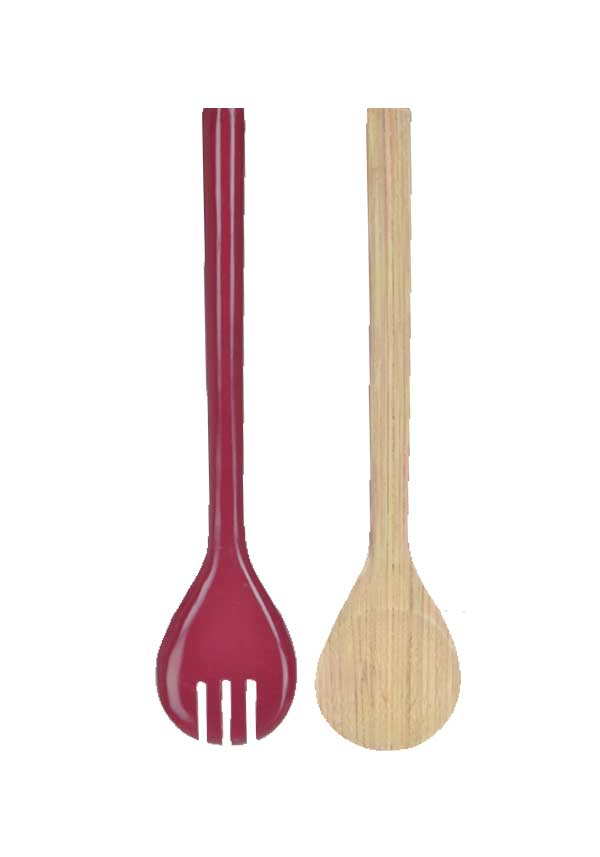 Rebu Bamboo Mulberry Salad Server