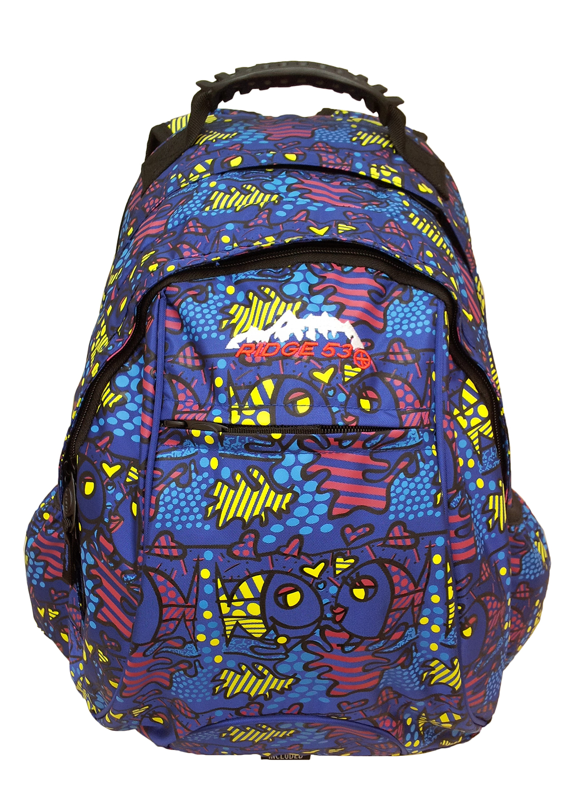 Ridge 53 Neptune Backpack School Bag, Multi-Coloured