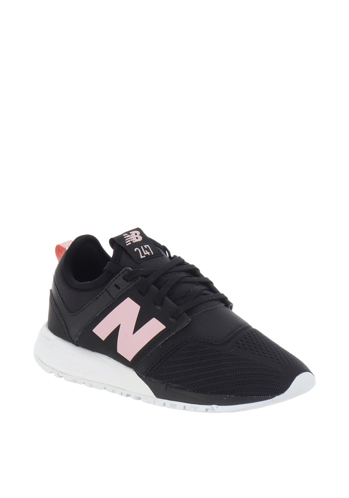 New Balance Womens 247 Trainers, Black
