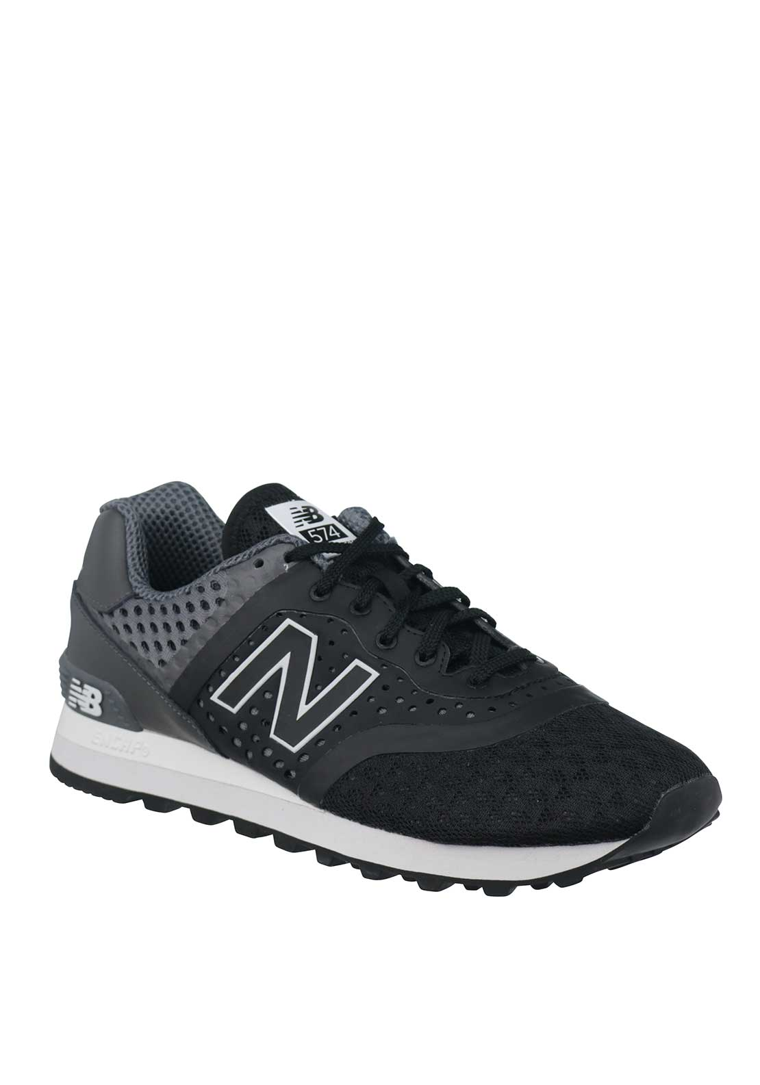 New Balance Mens 574 Re-engineered Trainers, Black