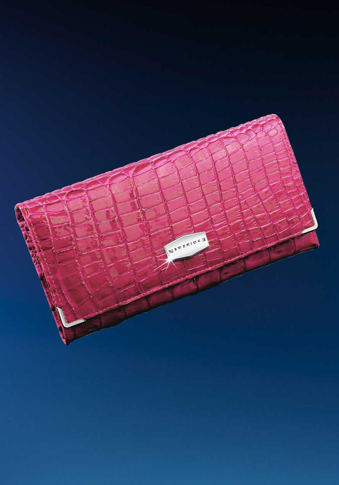 Newbridge Cerise Pink Leather Purse