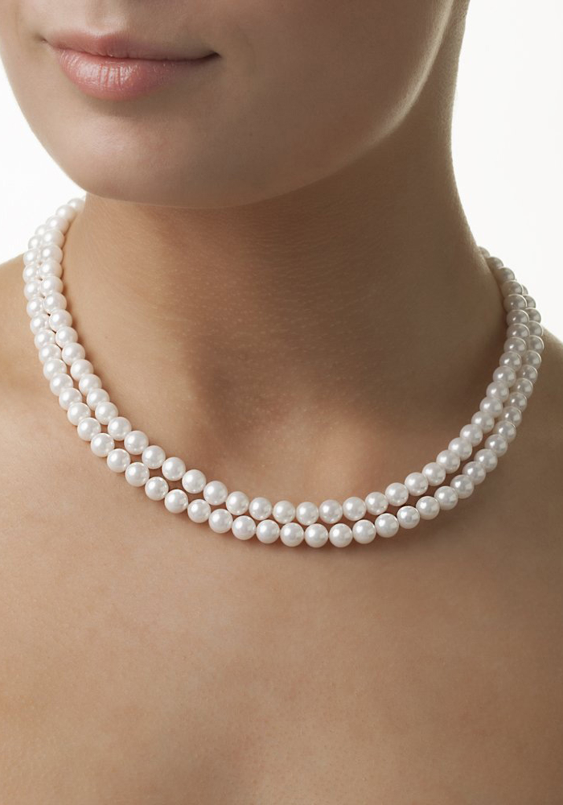Newbridge Grace Kelly Rhodium Necklace