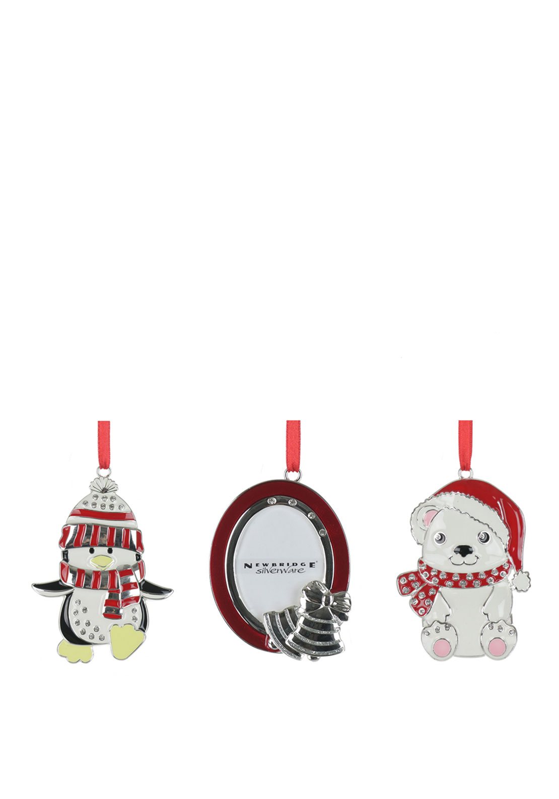 Newbridge Christmas 3 Piece Hanging Tree Decoration