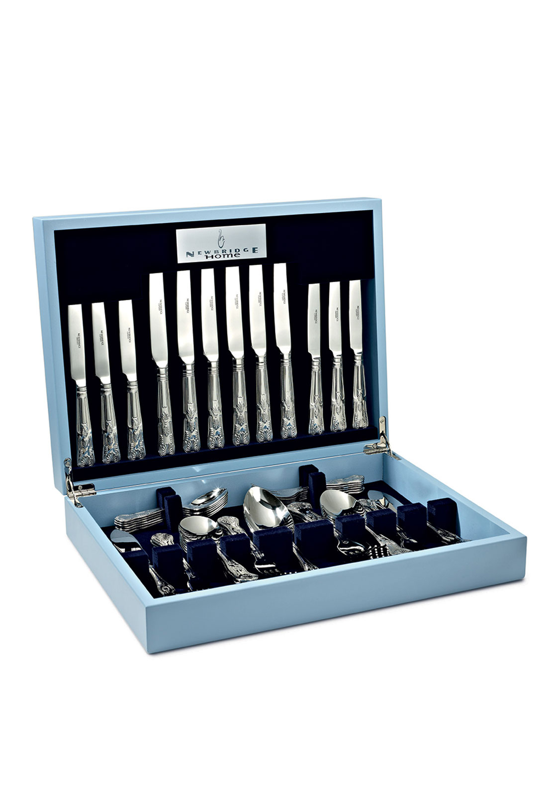 Newbridge Kings Stainless Steel Collectors Cutlery Set, 62pce