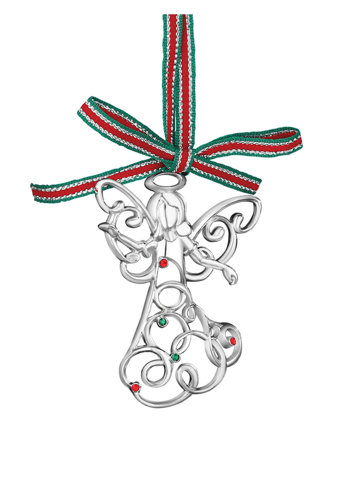 Newbridge Christmas Hanging Angel with Coloured Stones Decoration