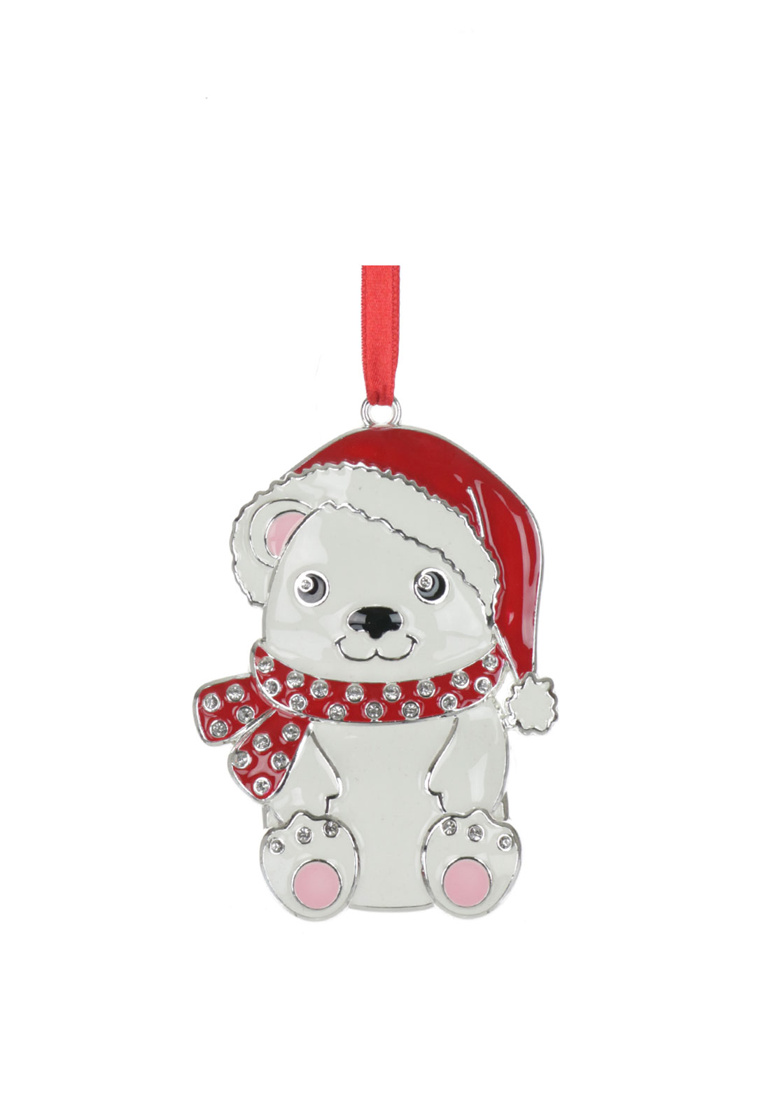 Newbridge Christmas Hanging  Bear Decoration