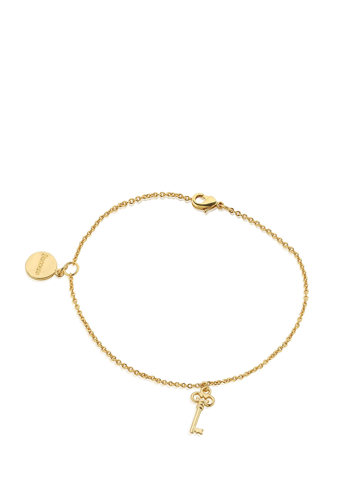 Newbridge Amy Key Bracelet, Gold